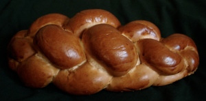 Kalács - braided Hungarian bread