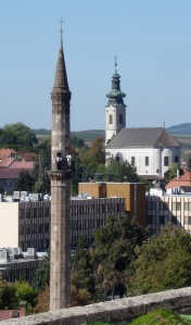 Turkish Minaret from Eger Castle