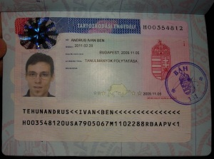 Residence Permit in my Passport