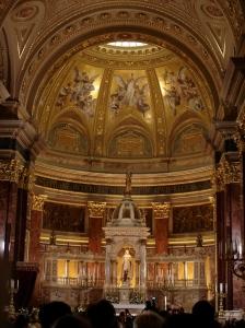 The alter of Szent István Bazilika