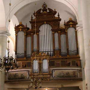 The organ of the Reform church in Sopron